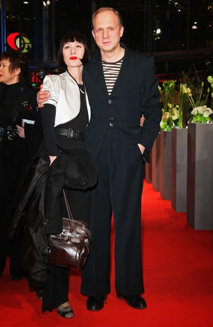 Katharina John and Ulrich Tukur at the premiere of